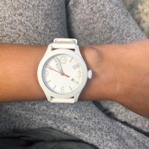 White MOVADO ESQ watch